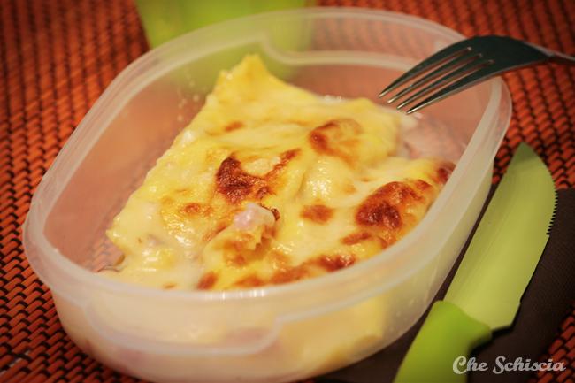 Cannelloni prosciutto cotto e mozzarella